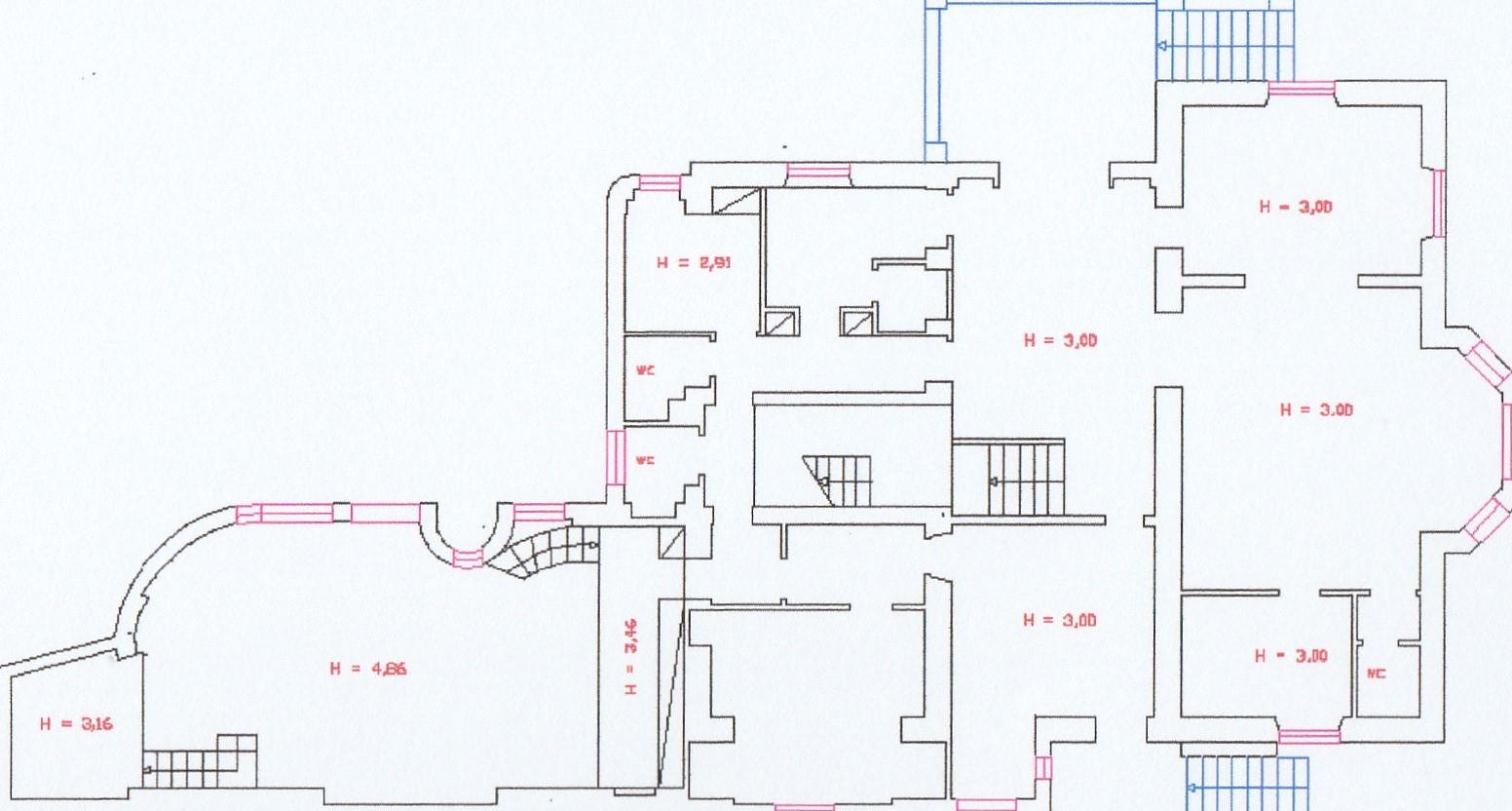 Planimetria piano primo rialzato gds immobiliare for Planimetrie a un piano aperto