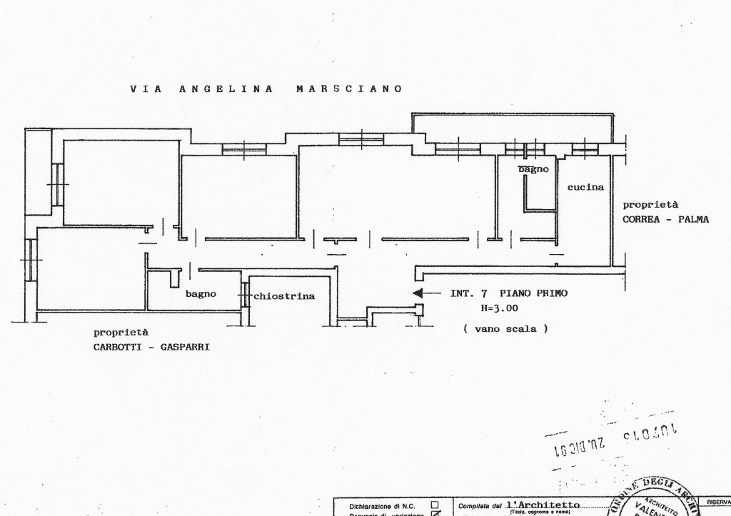 Planimetria appartamento gds immobiliare for Planimetria appartamento